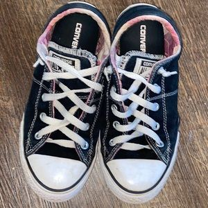 Junior Converse All Star slide on Shoes